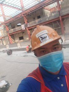 Anh Trần Quang Đức trãi nghiệm thực tế tại nhà ga mê tro tuyến suối tiên